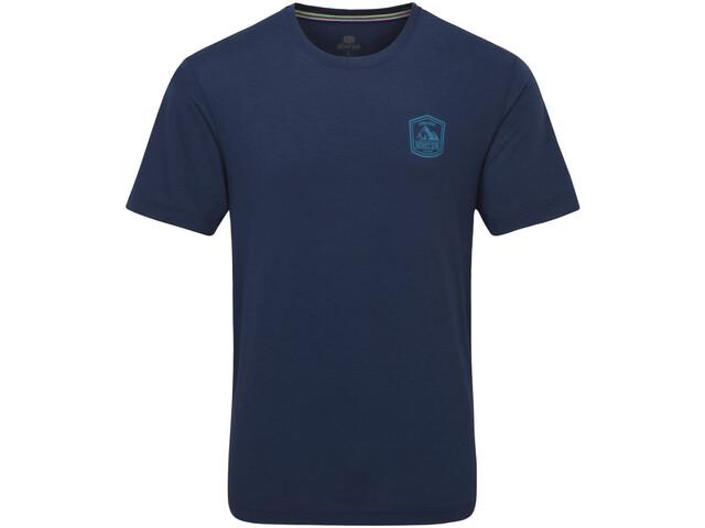 Sherpa Hawa T-shirt Homme, neelo blue